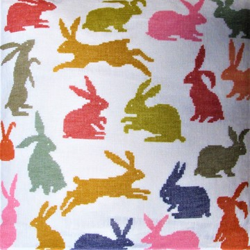 20-7105 Hare Pude 40x40