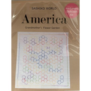 Sashiko - America Grandmothers Flower Garden