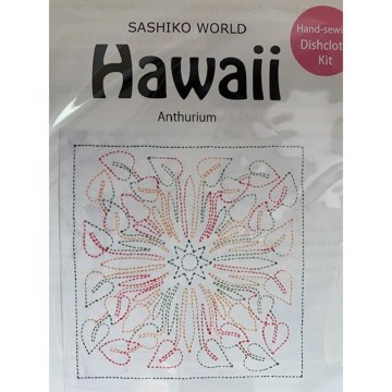 Sashiko - Hawaii Anthurium